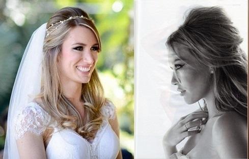 30 Penteados De Noiva Com Cabelo Solto 14 Noivas Reais Para