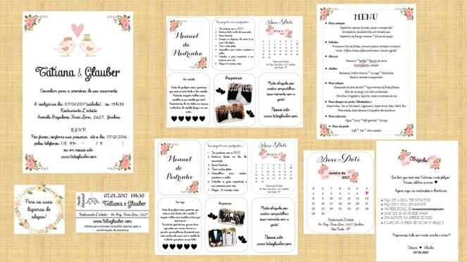 A Papelaria Do Nosso Casamento 3 Para Download Grátis Casamento